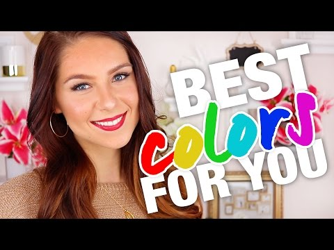 Which Colors Look Best On You | COLOR THEORY