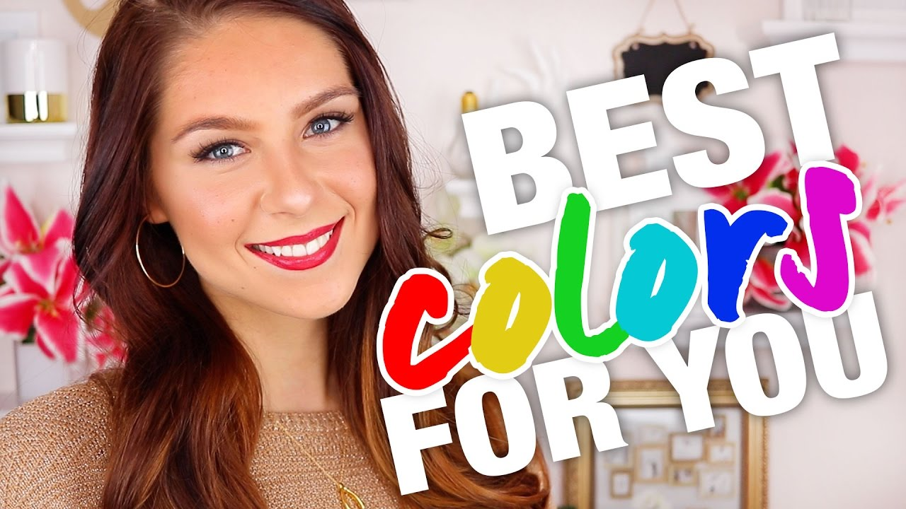 Which Colors Look Best On You Color Theory Youtube