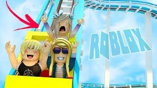 SIE FIEL VON DER FAHRT! Roblox Universal Studios zu Besuch mit BasicallyBea & Cheridet