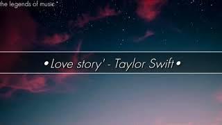 Download Love Story - Taylor Swift | lyrics dan terjemahan