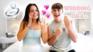 WEDDING Q&A!! (Her wedding dress, wedding night, ETC!)
