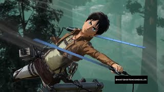 Attack on Titan Wings of Freedom Eren Dlc Mission