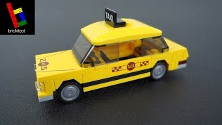 How to Build a LEGO Taxi