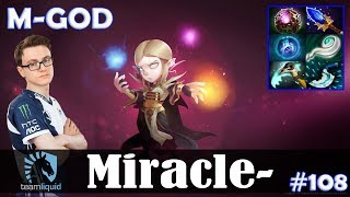 Miracle - Invoker MID | M-GOD | Dota 2 Pro MMR Gameplay #108