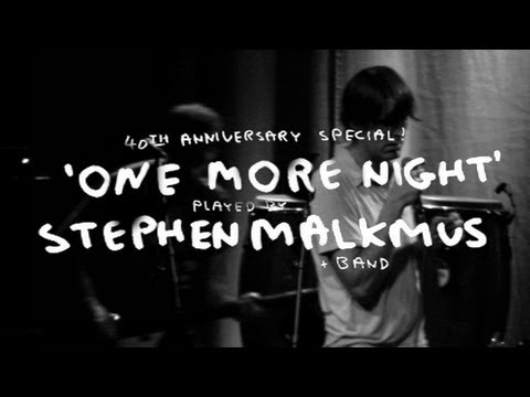 "Stephen Malkmus performs ""One More Night"" [Can Cover]"