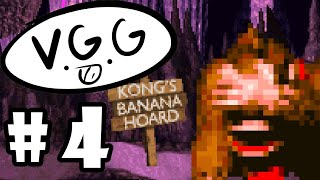 We're Never Getting Out of Monkey Mines - Donkey Kong Country (Part 4) - VideoGameGaming