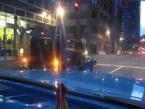 Hot Rods cruising Downtown Frankfurt