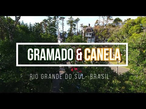 GRAMADO & CANELA- RS FILMAGEM COM DRONE em 4K