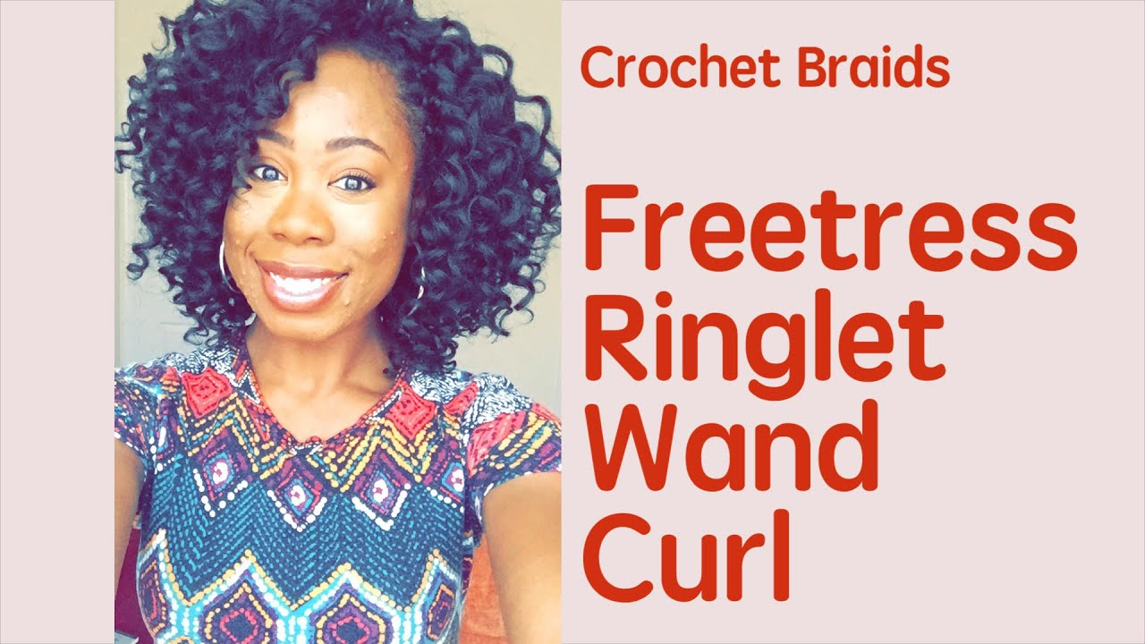 Freetress X Ringlet Wand Curl Natural Looking Crochet Braids - Hairstyle ringlets curls