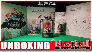 [UNBOXING] Ni No Kuni 2 King´s Edition (PS4) Beautiful in 4K 60fps