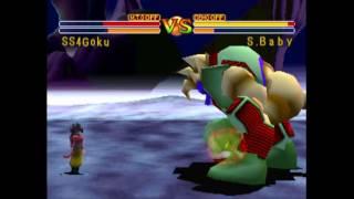 Dragon Ball Final Bout: Super Saiyan 4 Goku vs Super Baby