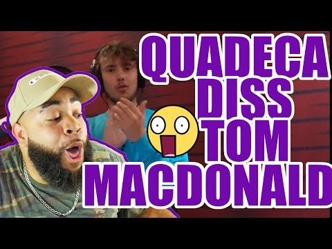 Quadeca Diss Tom Maonald - {{ REACTION }} 15 Styles of Rapping