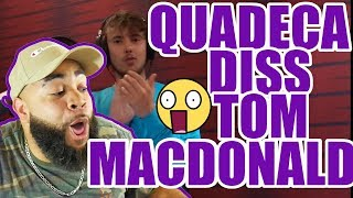 Смотреть клип Quadeca Diss Tom Macdonald - {{ Reaction }} 15 Styles Of Rapping!