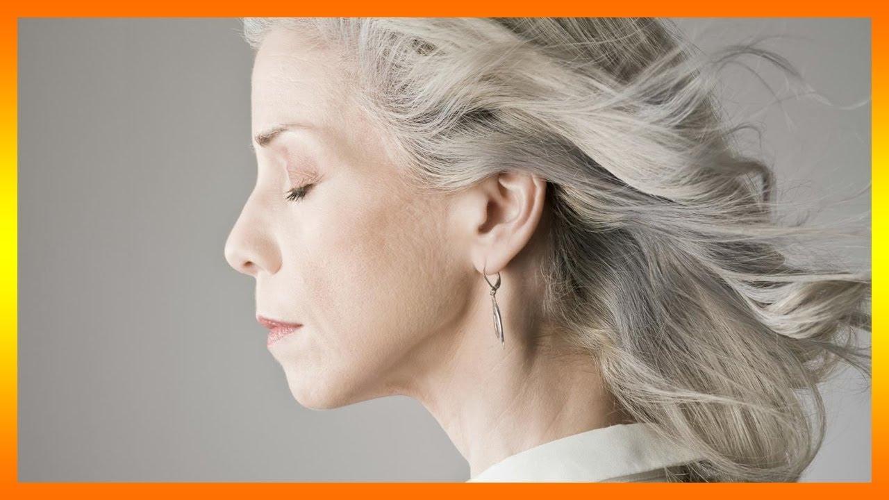 que significa sonar con canas blancas en el cabello