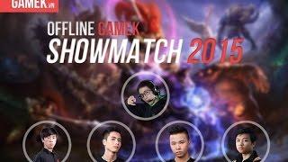 Mèo Ú - Javan IV vs KingofWar - Leblanc (Game 1) | GameK ShowMatch 2015
