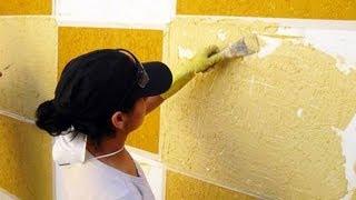 Como Aplicar Textura Em Paredes Grafiato Textura Como Fazer Textura