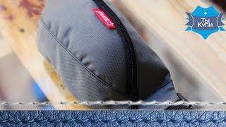 Сумка на пояс из водоотталкивающей ткани PUNCH Grey купить в Украине. Обзор