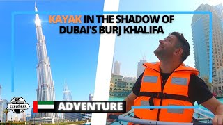 Kayak in Downtown Dubai with stunning views of Burj Khalifa | United Arab Emirates