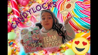 Unboxing CandyLocks  scented Dolls review by Olivia #review #funnyvideo #fun #play #hair #dolls#new
