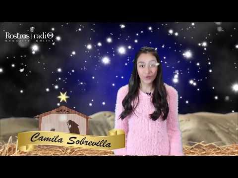 Feliz Navidad te desea Camila Sobrevilla - Rostros Latinos Radio