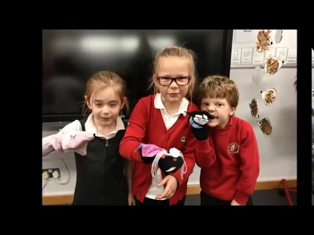 Year Two Sock Puppets!
