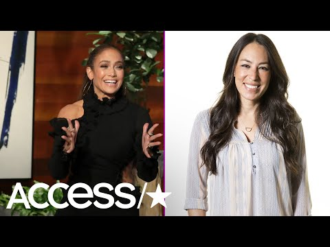Jennifer Lopez Got Totally Giddy Over Meeting 'Fixer Upper's' Joanna Gaines | Access