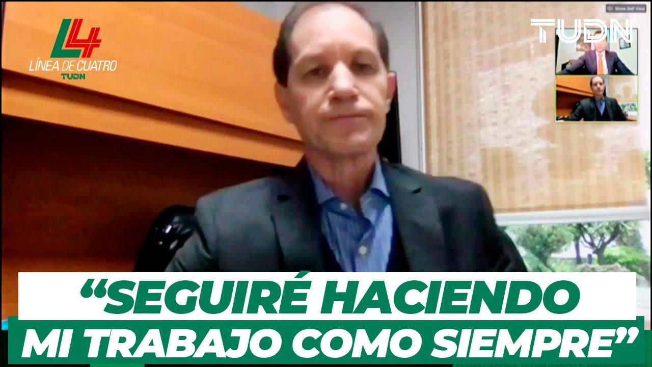 Jaime Ordiales habla sobre la difícil situación en Cruz Azul | TUDN
