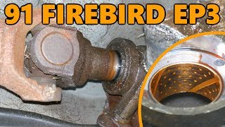 1991 Firebird 700R4 Tailshaft Bushing and Seal Replacement (Ep.3)