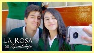 La Rosa de Guadalupe: Dago le regala un celular robado a Magali    Un toque de esperanza