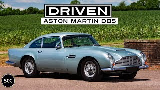 Aston Martin DB5 1964 - Rare right hand drive - Full test drive in top gear - Engine sound