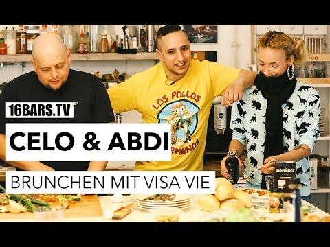 Celo & Abdi brunchen mit Visa Vie (16BARS.TV)