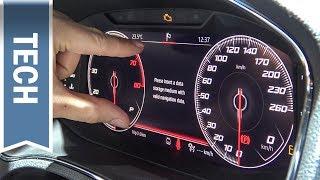 Seat Virtual Cockpit im Seat Arona in HD (Digitaler Tacho)