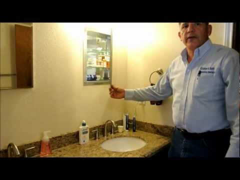 Mobile home bath remodel