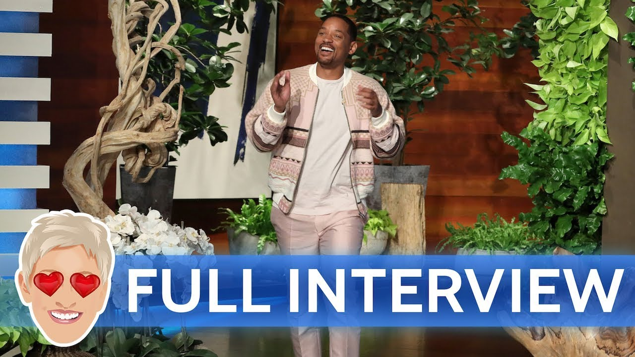 [VIDEO] - Will Smith's Full Interview with Ellen 1
