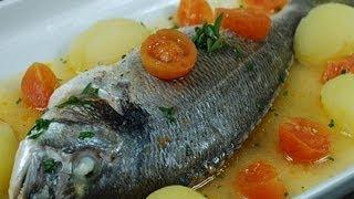 Cucinare il pesce filetti di branzino alla griglia uchef for Cucinare branzino 5 kg