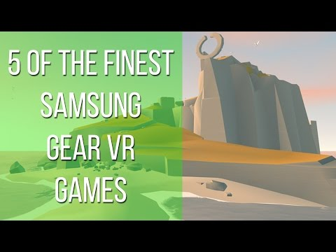 5 of the finest Samsung Gear VR games