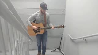 """""""Whiskey Glasses"""" - Morgan Wallen (Acoustic Cover by Ricky Shockley) Video"""