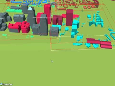 Cesium 3D Tiles - View Frustum Culling