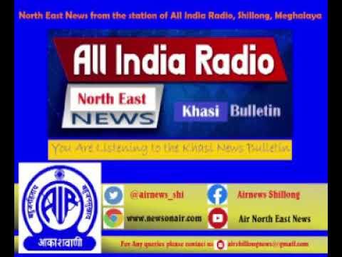 KHASI MORNING NEWS BULLETIN FROM THE STATION OF ALL INDIA RADIO SHILLONG, 02.04.2020