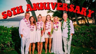 50TH ANNIVERSARY CELEBRATION IN HAWAII (MAUI VLOG 4) | Lauren Evelyn
