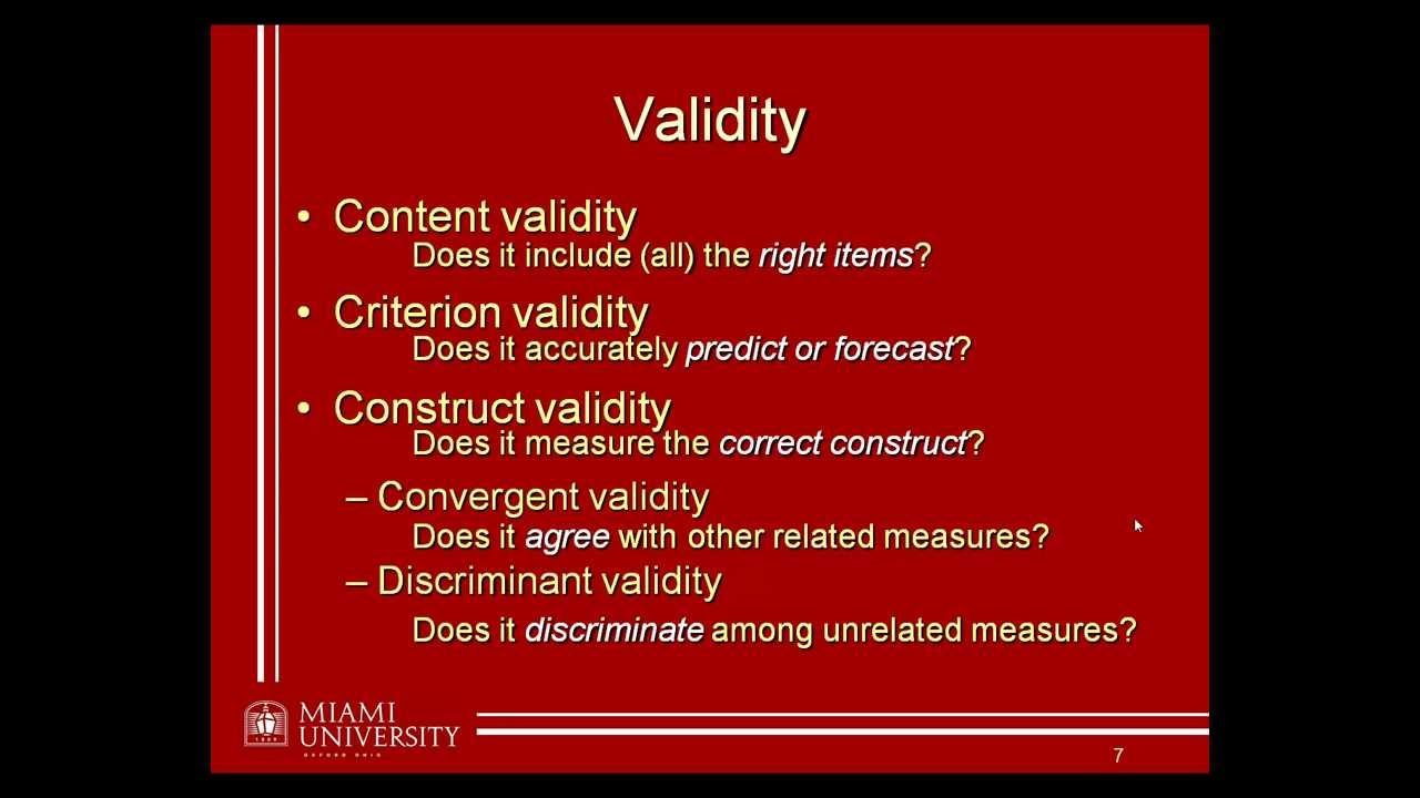 validity reliability section dissertation When it comes to data analysis,  the site also includes a really useful section of  you will also need to address concerns about the reliability and validity of.