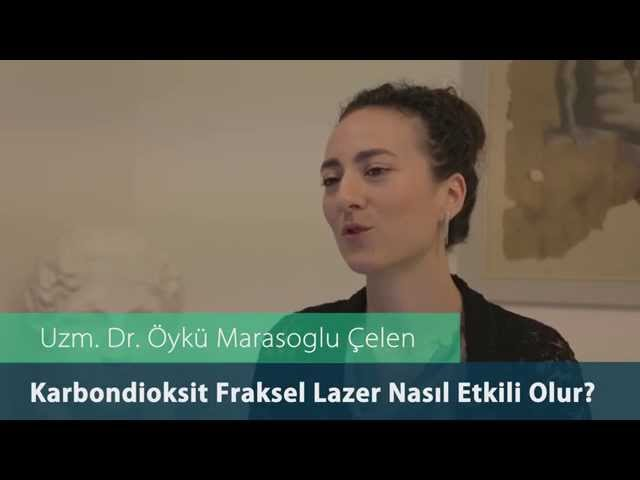 Dr.Öykü Maraşoğlu Çelen - Co2 Fraksel Lazer Nasıl Etkili Olur ?