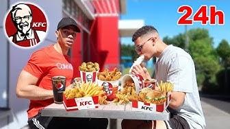 24 STUNDEN NUR KFC ESSEN !!! | Kelvin und Marvin