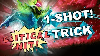 Dota 2 Tricks: ONESHOT - Critical Strike!
