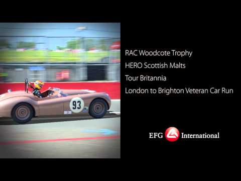EFG - the private bank for historic motor racing (2012)