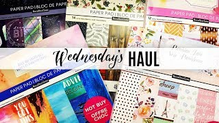 Wednesday's Haul 02.13.2019 - Michael's Hot Buy Paperpads Flip Through