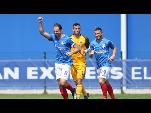 Highlights: Brighton and Hove Albion 1-1 Pompey