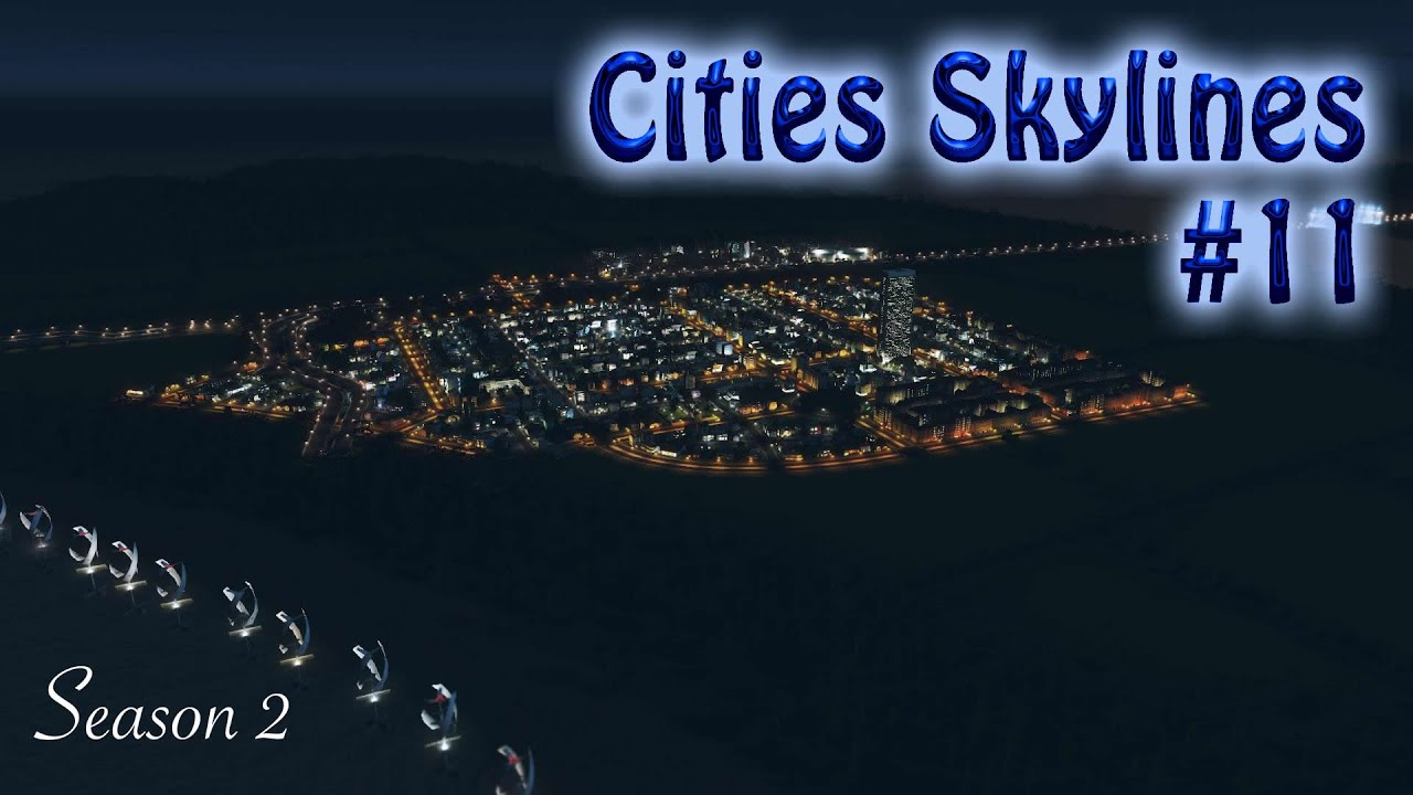 cities skylines null prozent finanzierung folge 11 hd. Black Bedroom Furniture Sets. Home Design Ideas