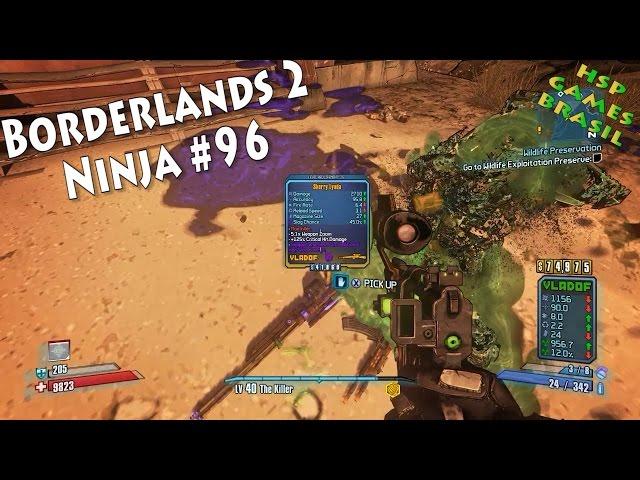 FARM DE LYUDA E XP! Borderlands 2 Ninja #96