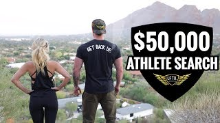$50,000 LFTD. LIFESTYLE ATHLETE SEARCH